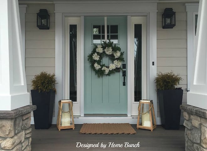 Front Door Makeovers In Coastal Blues Seas Your Day