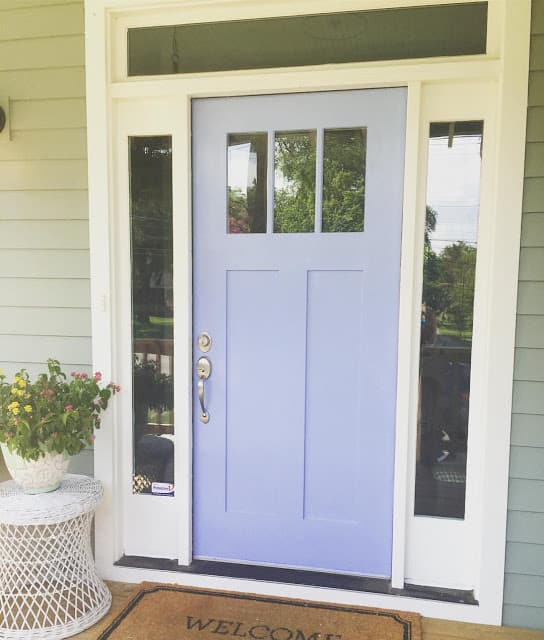 Front Door In Periwinkle Www Seasyourday Doors Shades Of
