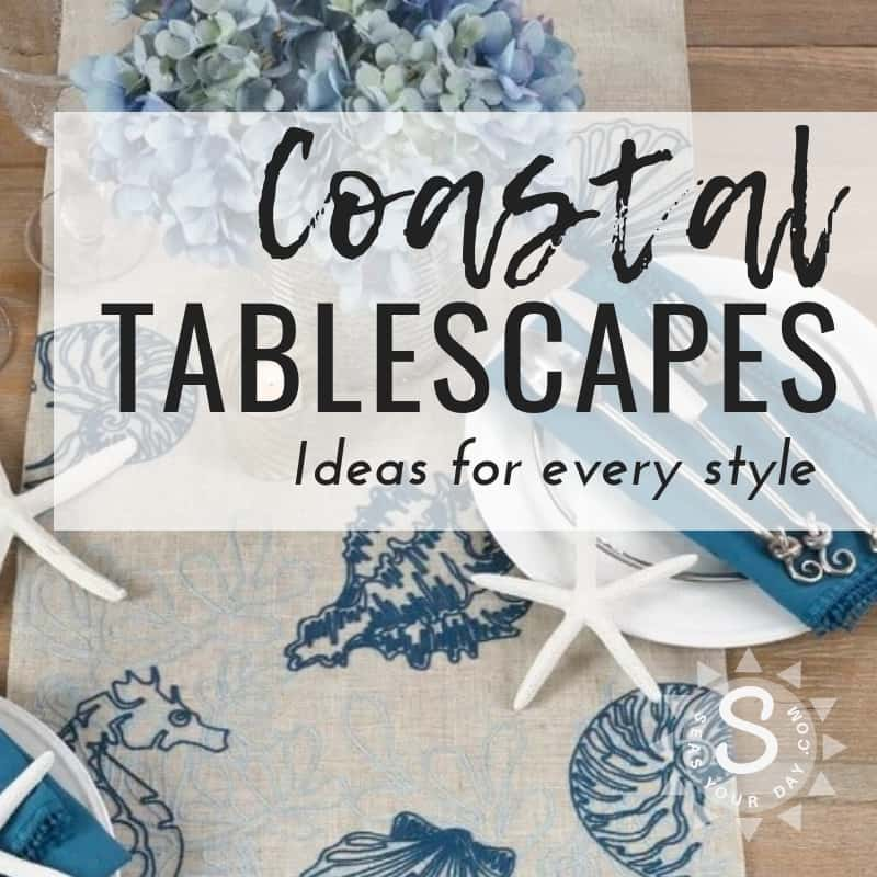 Phenomenal Coastal Tablescape Ideas For Outdoor Or Indoor Dining Seas Home Interior And Landscaping Palasignezvosmurscom