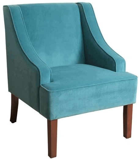 99 Coastal Blue Accent Chairs Under 200