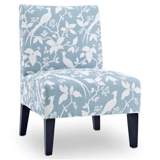 Coastal Blue Accent Chairs Under $200  Seas Your Day