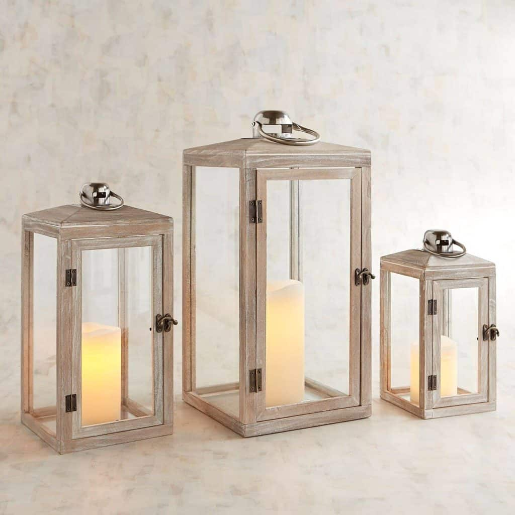Wood Lanterns For Indoor Or Outdoor Easy Diy Projects And Shop The Look Ideas Seas Your Day