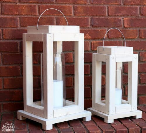 Wood Lanterns For Indoor Or Outdoor Easy Diy Projects And