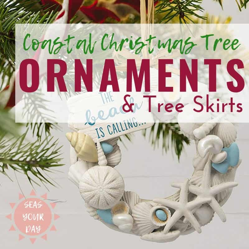 Christmas Tree Ornaments Shop Coastal Nautical Ideas Seas Your Day