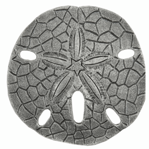Sand Dollar Antique Br Pewter Museum Gold