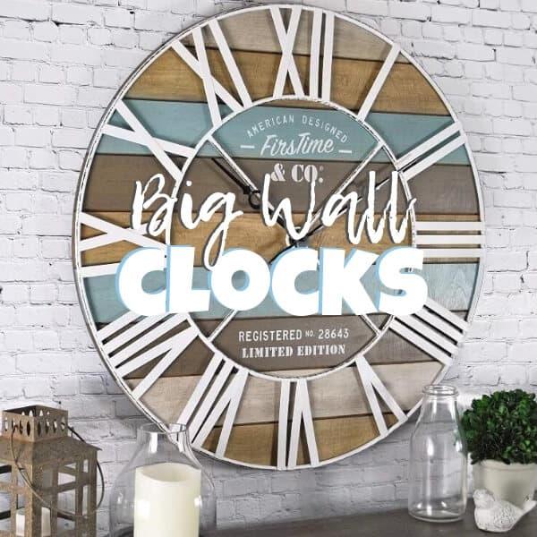 Beach Style Big Wall Clocks Diy Or Shop The Look Seas Your Day