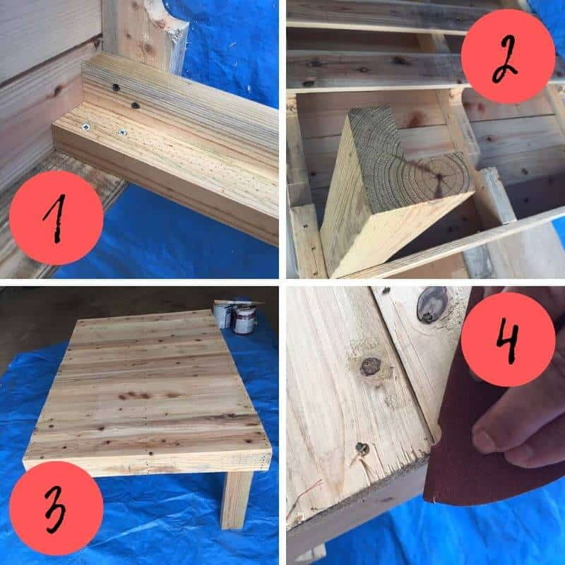 Wondrous Diy Beach Cottage Coffee Table From Wood Pallet Seas Your Day Uwap Interior Chair Design Uwaporg