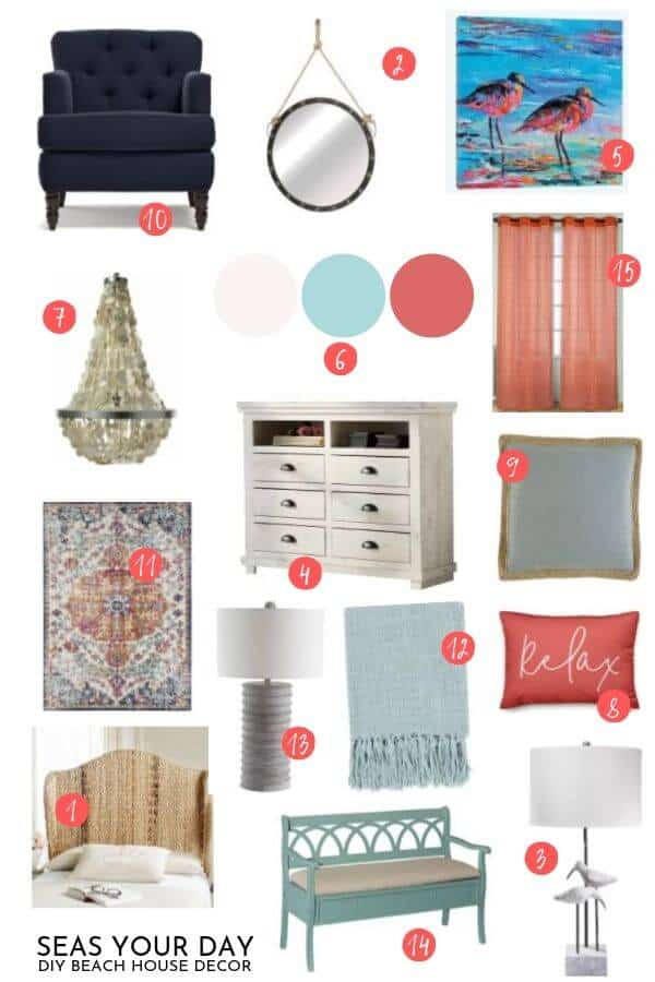 Seas Your Day How To Make A Room Design Mood Board