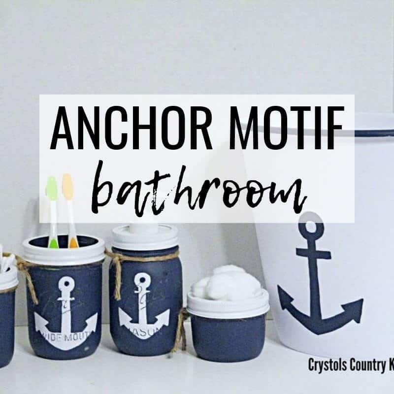 Nautical Bathroom Decor Featuring