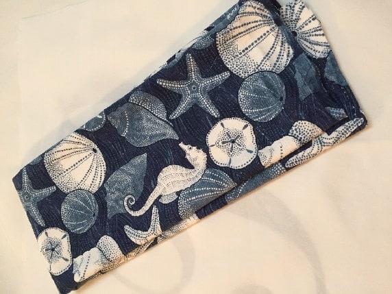 DIY Tea Towel Pillows - Seas Your Day